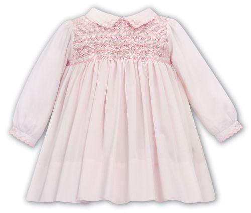 Girls Sarah Louise Dress 012048 Pink
