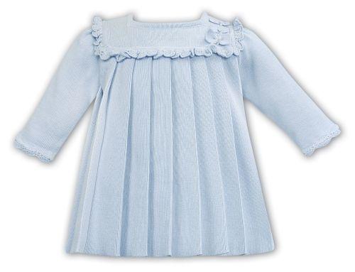 Girls Sarah Louise Dress 012079 Blue