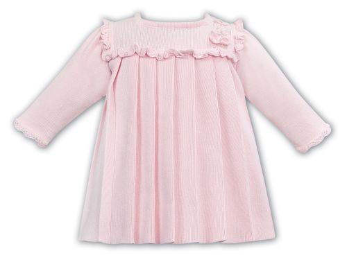 Girls Sarah Louise Dress 012079 Pink