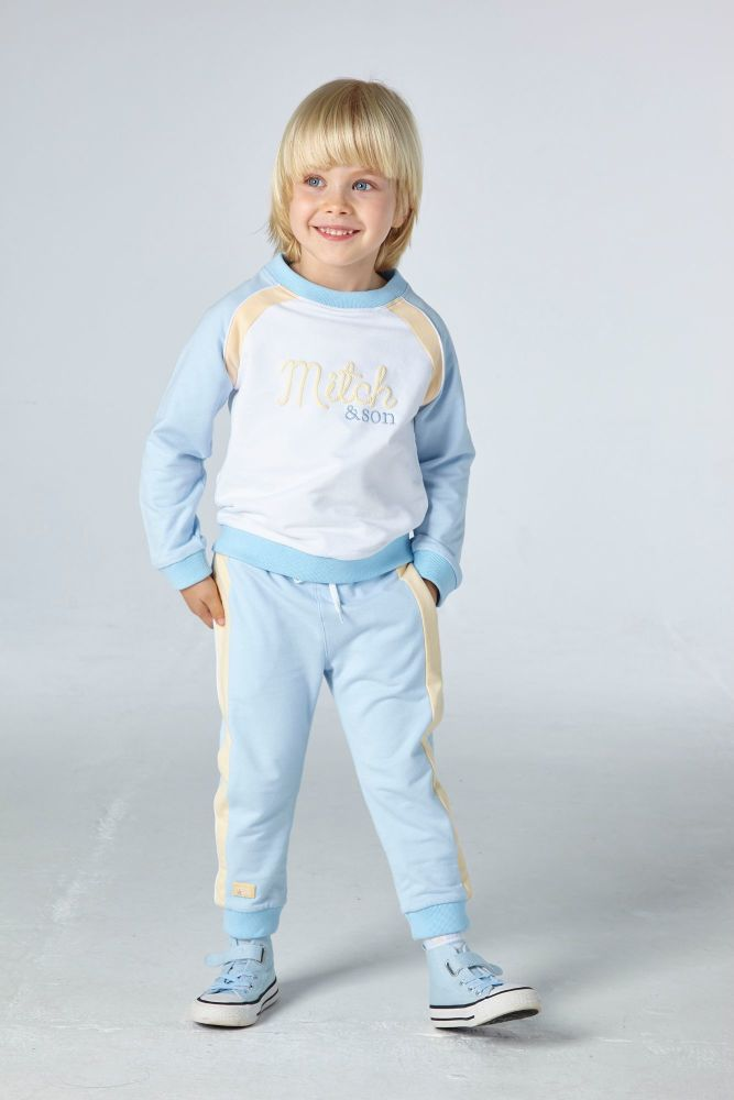 PRE ORDER SS21 Boys Mitch & Son Bedford Tracksuit MS21104