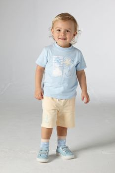 Boys Mitch & Son Bentwick T Shirt and Shorts Set MS21118