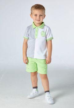 Boys Mitch & Son Ingram Polo Shirt and Shorts Set MS21317