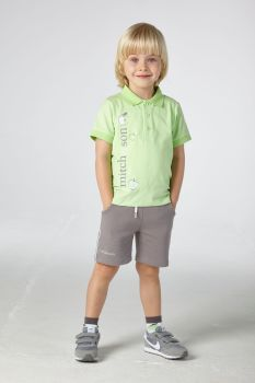 Boys Mitch & Son George Polo Shirt and Shorts Set MS21316