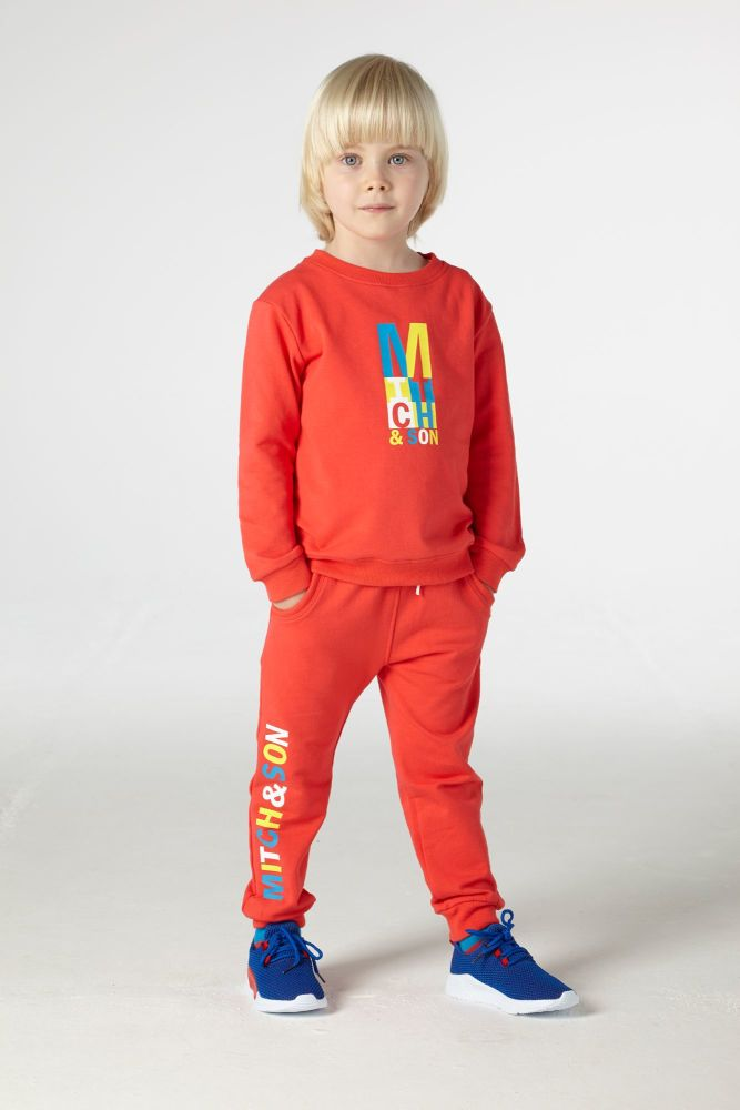 PRE ORDER SS21 Boys Mitch & Son Candleriggs Tracksuit MS21203