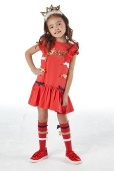 Girls A*Dee Circus Mania Collection Mabel Dress S212705
