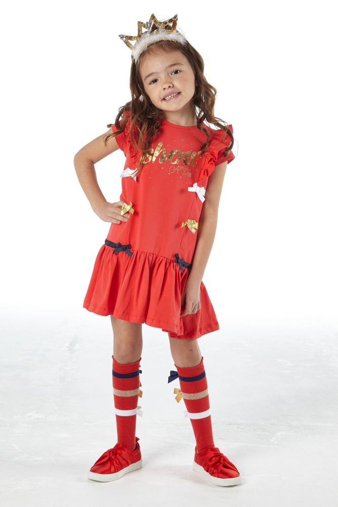 PRE ORDER SS21 Girls A*Dee Circus Mania Collection Mabel Dress S212705