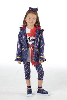 Girls A*Dee Circus Mania Collection Macie Coat S212202