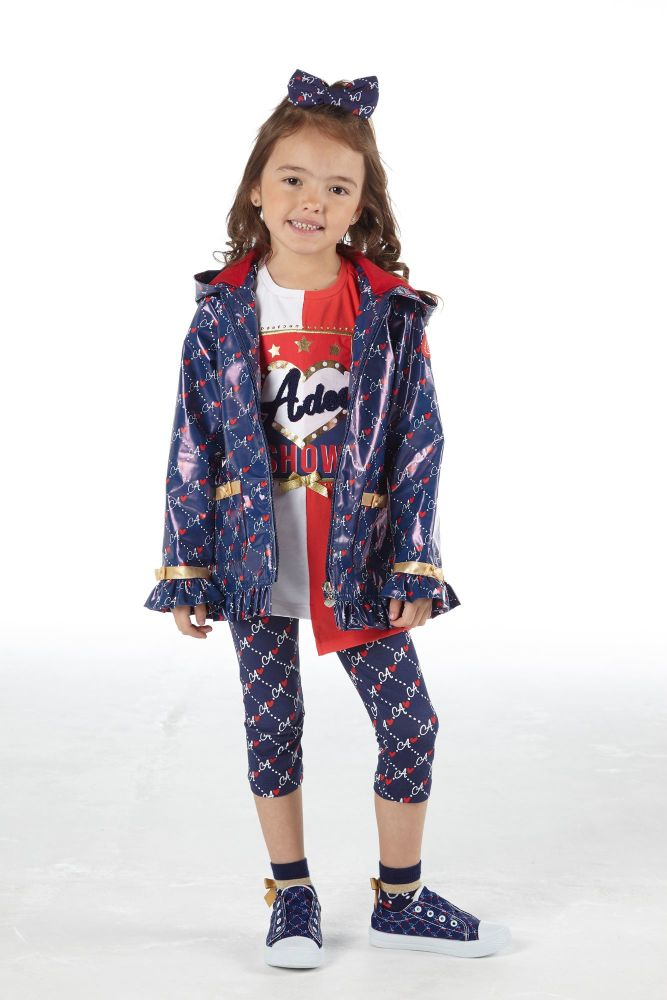 PRE ORDER SS21 Girls A*Dee Circus Mania Collection Macie Coat S212202