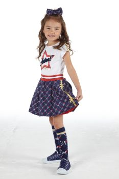 Girls A*Dee Circus Mania Collection Madison Skirt and Minnie Top S212600/212400