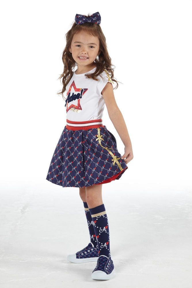PRE ORDER SS21 Girls A*Dee Circus Mania Collection Madison Skirt and Minnie