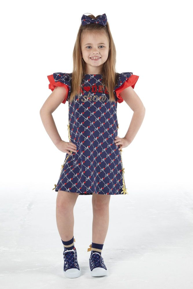 PRE ORDER SS21 Girls A*Dee Circus Mania Collection Meena Dress S212704