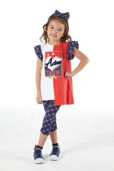 Girls A*Dee Circus Mania Collection Michelle Leggings Set S212506