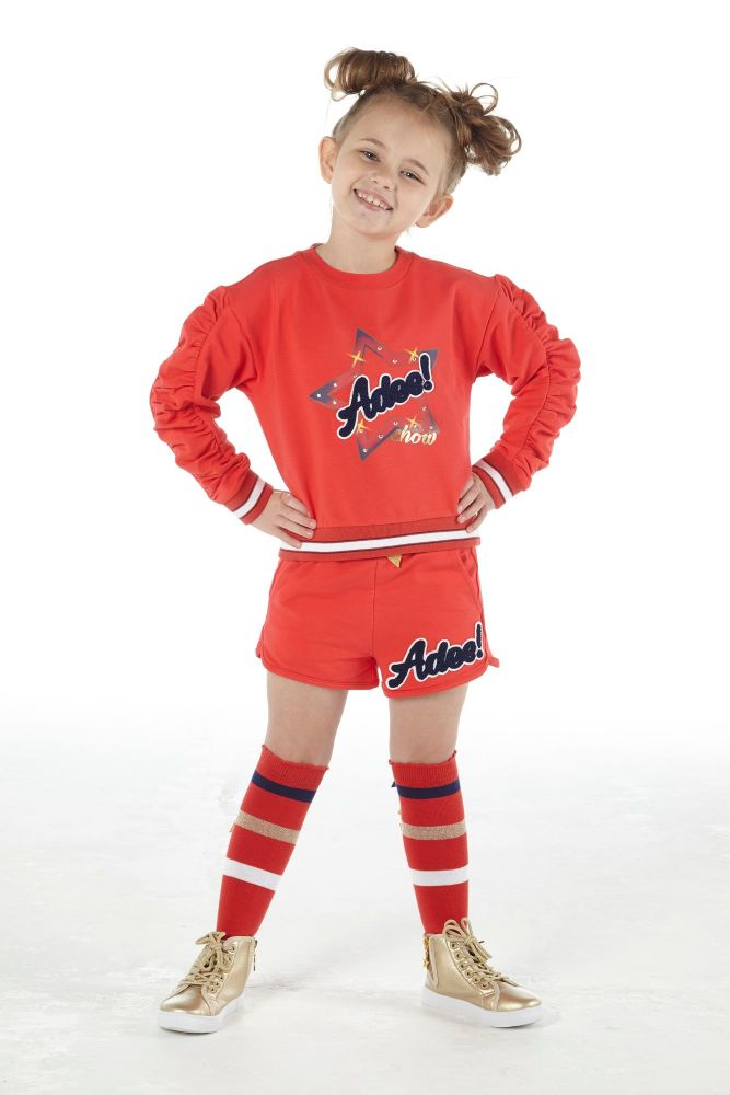 PRE ORDER SS21 Girls A*Dee Circus Mania Collection Milly Jumper and Shorts