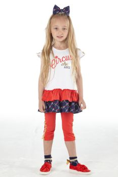Girls A*Dee Circus Mania Collection Molly Leggings Set S212507