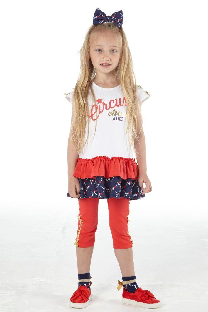 PRE ORDER SS21 Girls A*Dee Circus Mania Collection Molly Leggings Set S2125