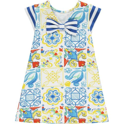 PRE ORDER SS21 Girls A*Dee Porto In The Sun Collection Laura Dress S211703