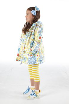 Girls A*Dee Porto In The Sun Collection Layla Coat S211201