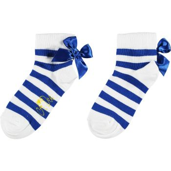 Girls A*Dee Porto In The Sun Collection Libby Socks S211903 Blue