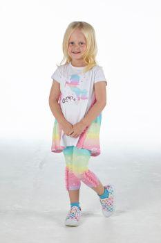 Girls A*Dee Rainbows and Unicorns Collection Natalia Leggings Set S213514
