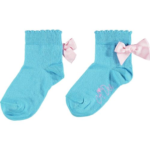 PRE ORDER SS21 Girls A*Dee Rainbows and Unicorns Collection Nic Socks S2139