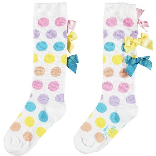 PRE ORDER SS21 Girls A*Dee Rainbows and Unicorns Collection Nicoletta Socks