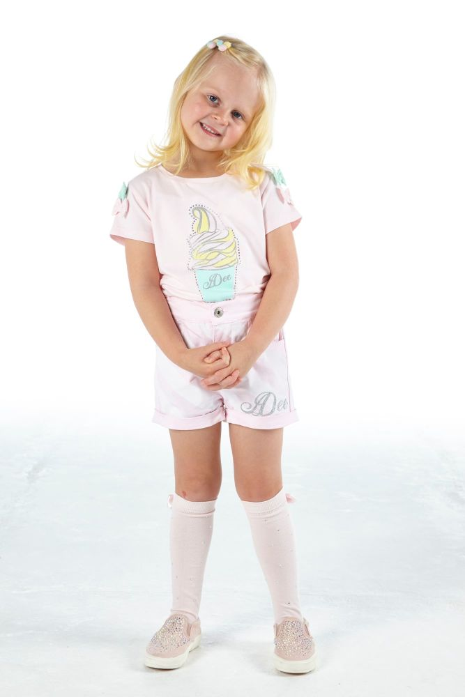 PRE ORDER SS21 Girls A*Dee Scream For Ice Cream Collection Olga Top and Ore