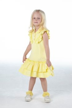 Girls A*Dee Scream For Ice Cream Collection Orchid Dress S214711