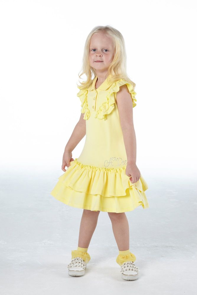 PRE ORDER SS21 Girls A*Dee Scream For Ice Cream Collection Orchid Dress S21