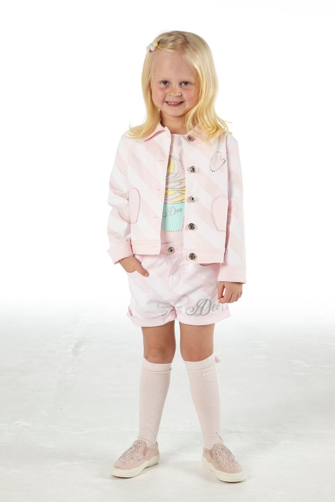PRE ORDER SS21 Girls A*Dee Scream For Ice Cream Collection Orlagh Jacket S2