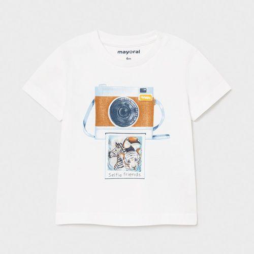 Boys Mayoral T Shirt 1003 White