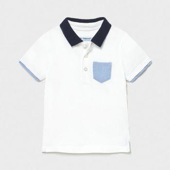 Boys Mayoral Polo Shirt 1103 White