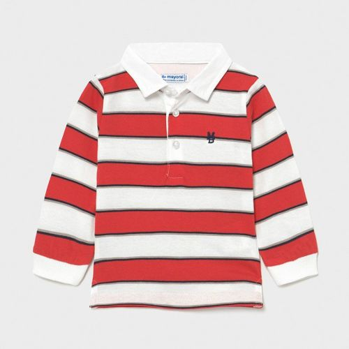 Boys Mayoral Polo Shirt 1112 Cyber Red