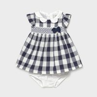 Girls Mayoral Dress and Pants 1833 Navy