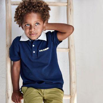 Boys Mayoral Polo Shirt and Shorts Set 3104 611