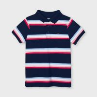 Boys Mayoral Polo Shirt 3111 Navy 91