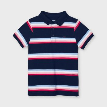 Boys Mayoral Polo Shirt 3111 Navy 91