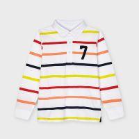 Boys Mayoral Polo Shirt 3114 Apricot 84