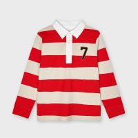 Boys Mayoral Polo Shirt 3114 Cyber Red 83