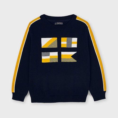 Boys Mayoral Sweater 3329 Yellow