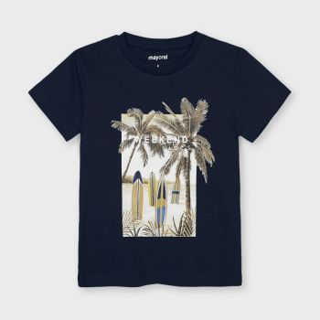 Boys Mayoral T Shirt 3032 Navy