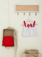 Girls Cuka Silver and Red Set 88600