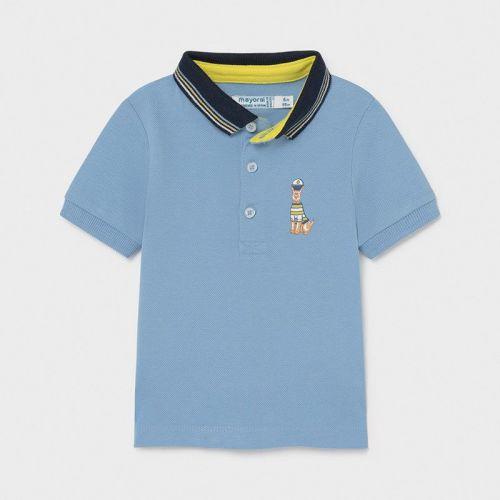 Boys Mayoral Polo Shirt 1104 Lavender