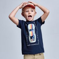 Boys Mayoral T Shirt 3039 Navy
