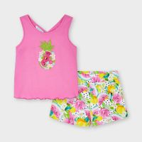 Girls Mayoral Top and Shorts Set 3215 Camellia 63