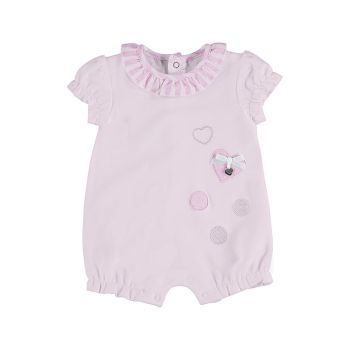 Girls Mayoral Romper 1603 Baby Rose 48