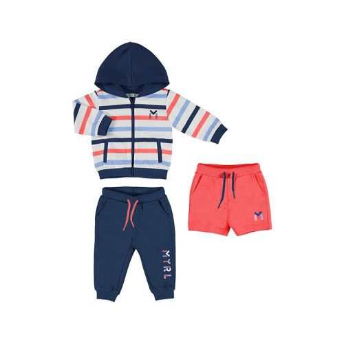 Boys Mayoral 3 Piece Tracksuit Set 1846 Cyber Red 92