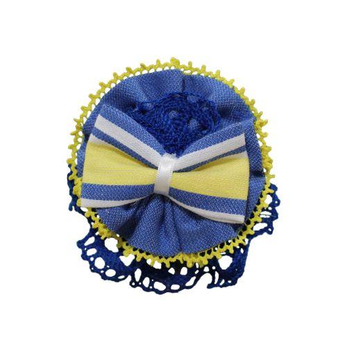 PRE ORDER SS21 Girls Miranda Blue, Lemon and White Headband 150