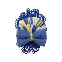 Girls Miranda Blue, Lemon and White Headband 250