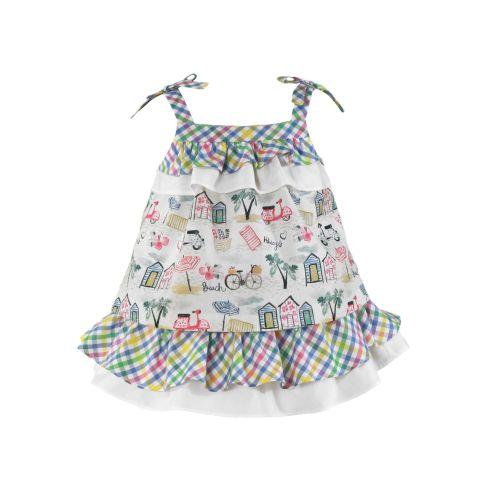 PRE ORDER SS21 Girls Miranda Multi Colour Dress 506