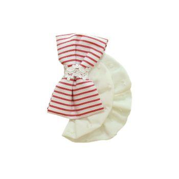 Girls Miranda Red and White Headband 152